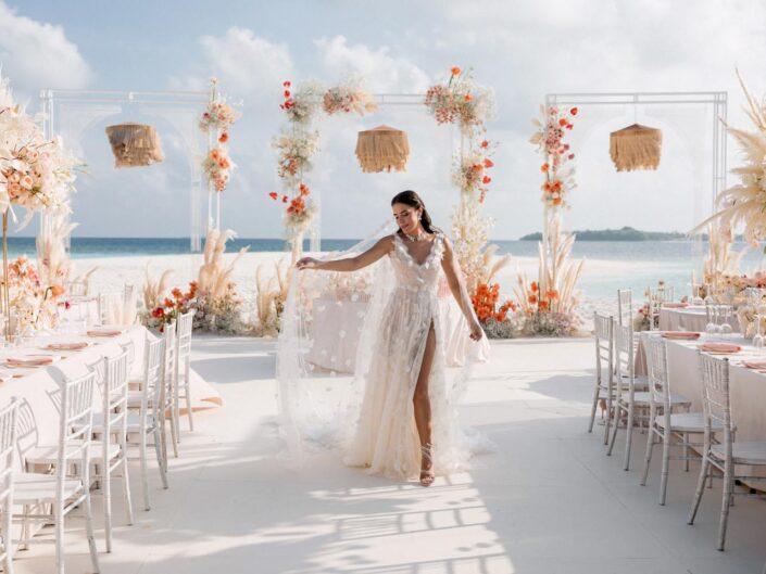 Maldives Wedding. Иванна Онофрийчук и Алмаз