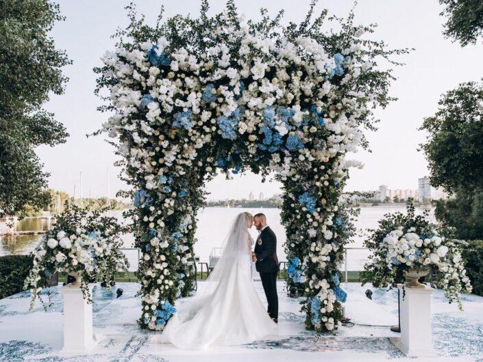 Gomberg V&K wedding. Свадьба в стиле Dior. Вадим и Кристина