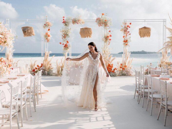 Backstage роскошной свадьбы на Мальдивах Иванны и Алмаза